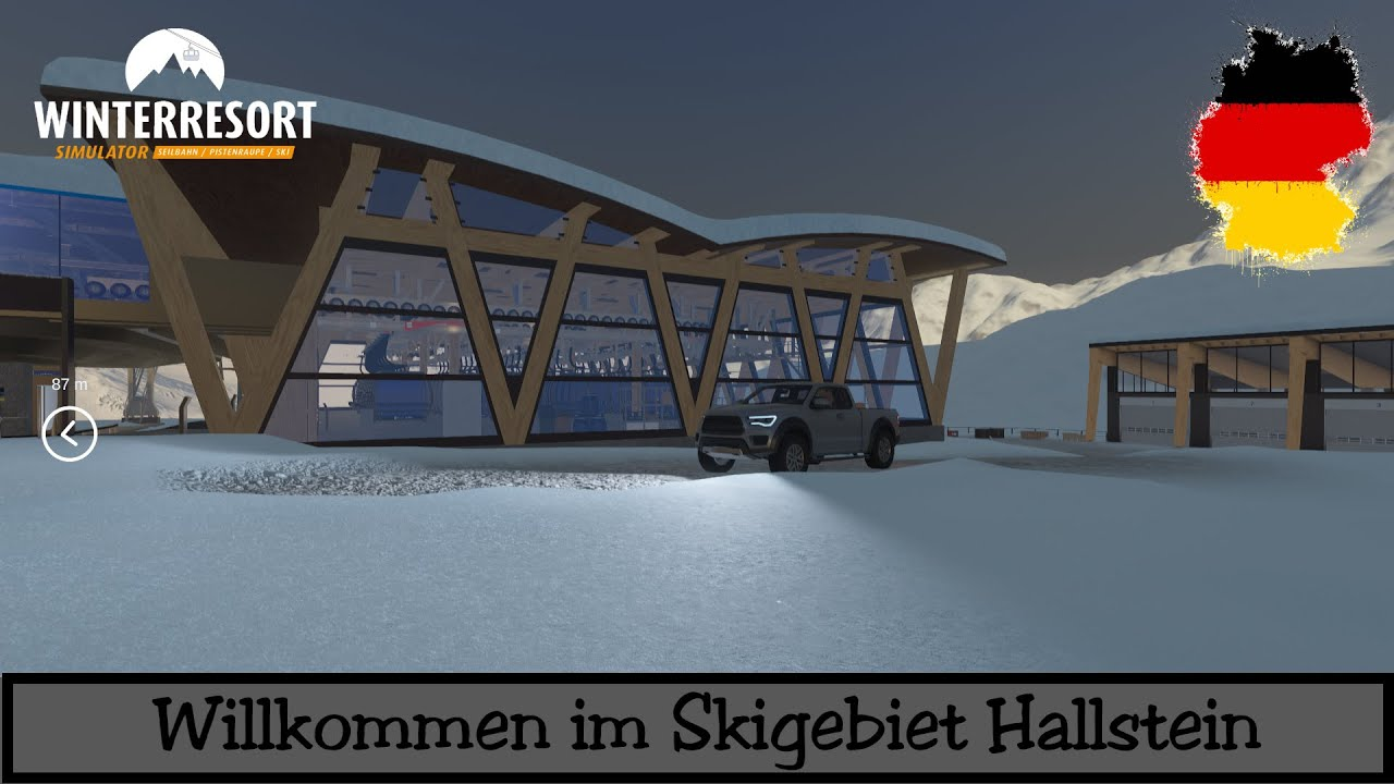 winter resort simulator willkommen im skigebiet. Black Bedroom Furniture Sets. Home Design Ideas