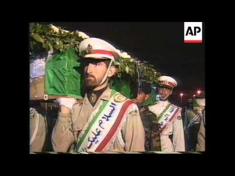 IRAN: BODIES OF IRANIANS KILLED IN AFGHANISTAN ARRIVE HOME
