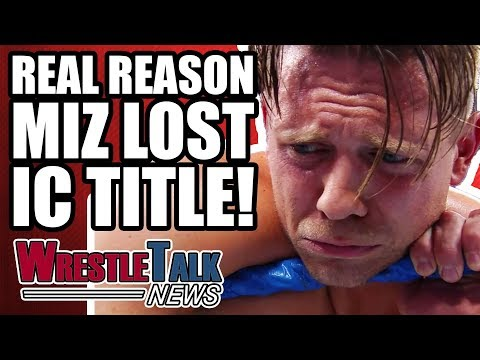 Real Reason The Miz LOST His Intercontinental Title On WWE RAW! | WrestleTalk News Nov. 2017