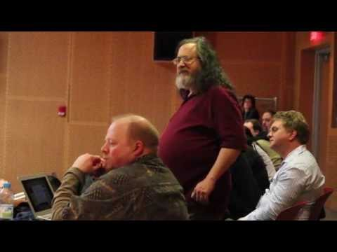 Richard Stallman disgusted with Netflix and at odds with other non free software