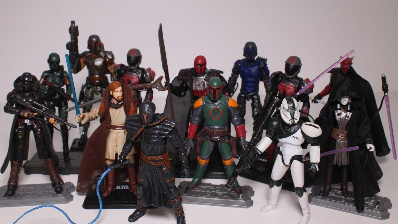 All My Custom Star Wars Figures Of 2016