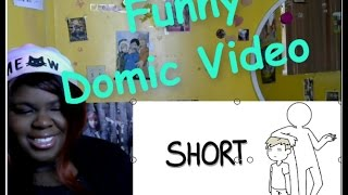 Gambar cover JazzKat reacts to Short by Domics