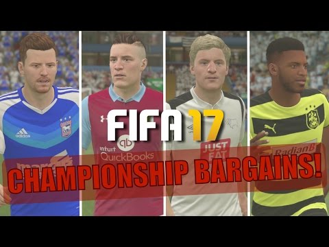 TOP 20 CHAMPIONSHIP BARGAINS | FIFA 17 Career Mode