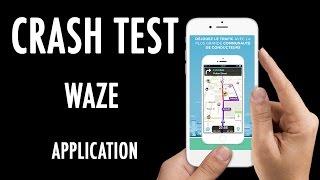 Crash Test - Le GPS social avec Waze (Application)