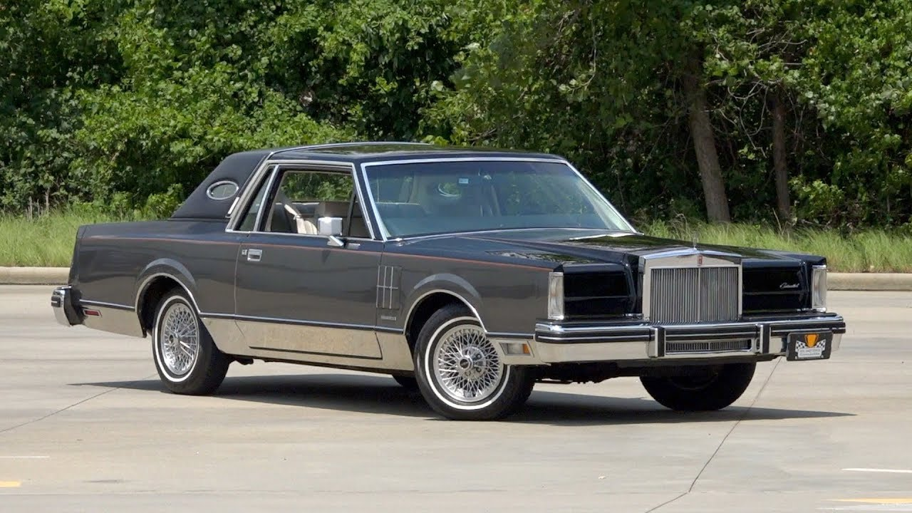 1981 Lincoln Mark VI Givenchy Edition FOR SALE / 136524