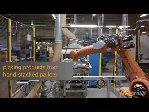 Robotic Positioning and Sawing