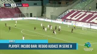 Serie C Playoff incubo Bari Reggio Audace in serie B TG Teleregione 23 07 2020 1