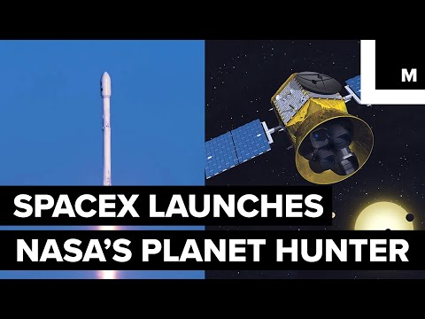 NASA's 'TESS' Planet Finder Satellite Rode a Falcon 9 to Space