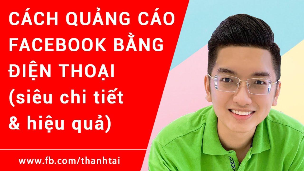 Cách tự chạy Quảng Cáo Facebook trên điện thoại - Quản lý quảng cáo Facebook bằng điện thoại