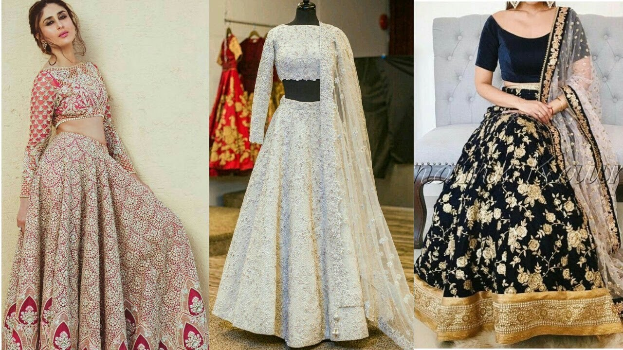 Ways Best to wear clogs pictures, Lehenga stylish for girls