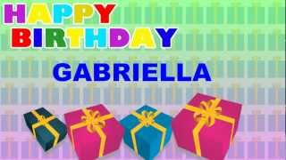 Gabriella - Animated Cards - Happy Birthday