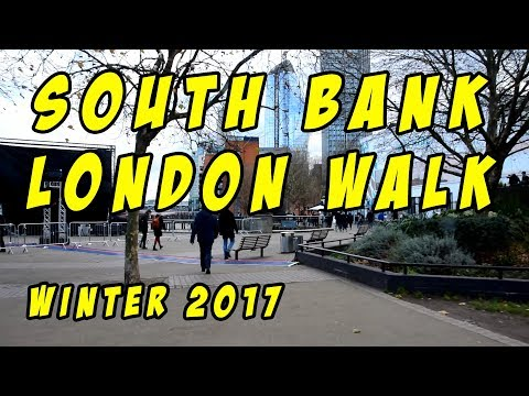 South Bank London Walk From Westminster Bridge to The Golden Hinde
