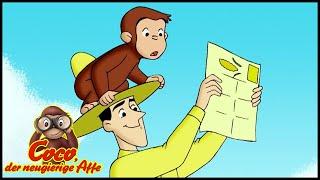 Coco der Neugierige Affe 🐵 Labyrinth im Maisfeld 🐵 Ganze Folgen 🐵 Cartoons für Kinder🐵 Staffel 3
