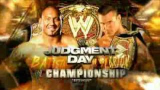 WWE Judgment Day 2009 - Randy Orton vs. Batista (HQ)