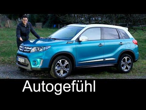 Suzuki Vitara FULL REVIEW test driven all-new neuer 2016 Comfort+ AWD - Autogefühl