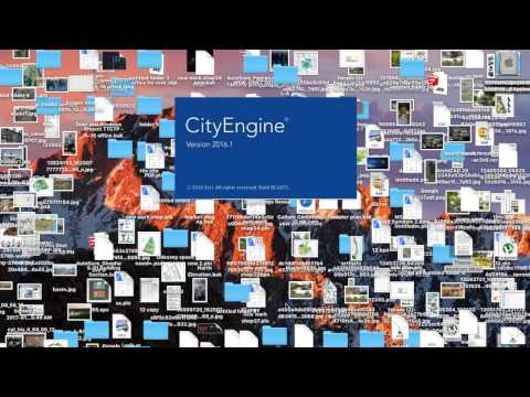 how to install city Engine v  2016 1 for mac - YouTube