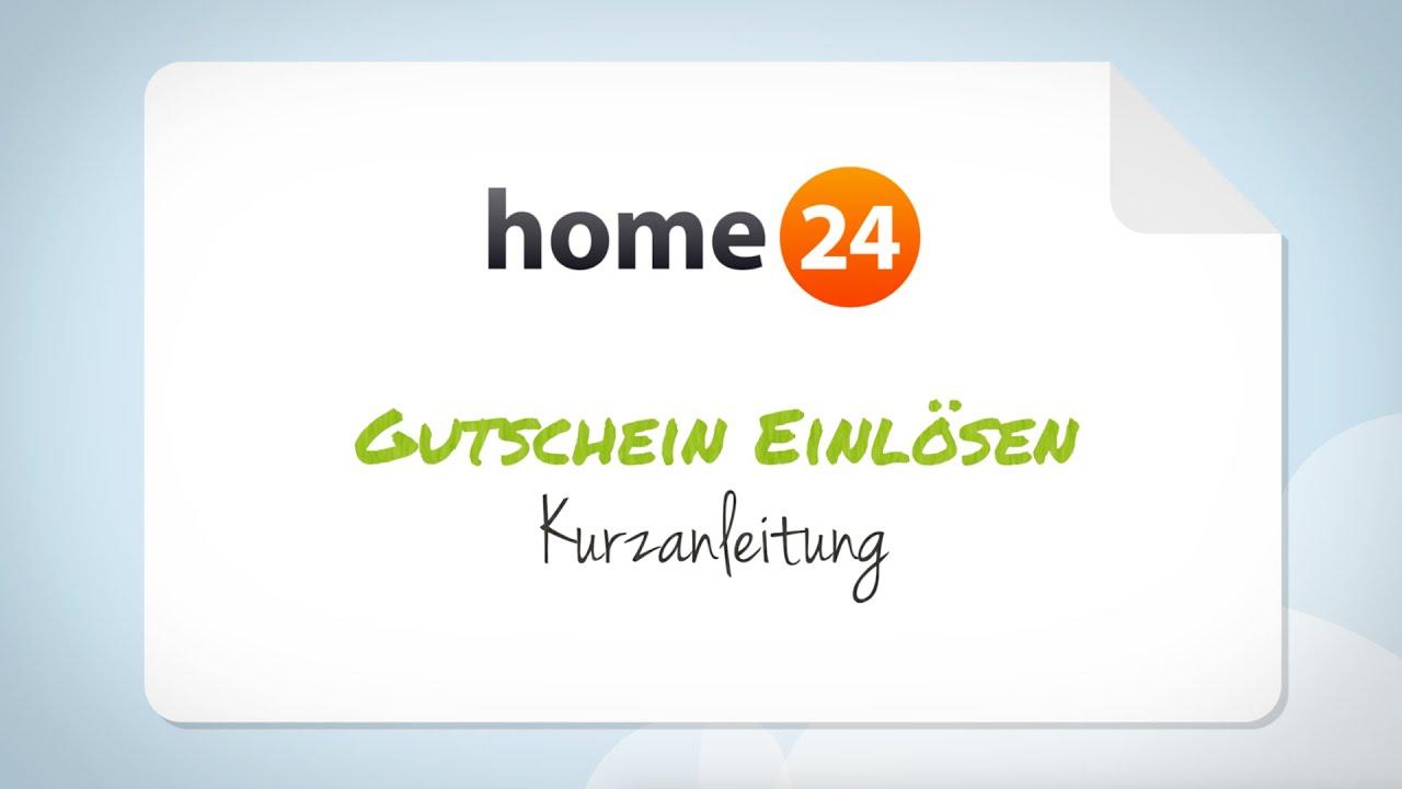 home24 gutschein einl sen schritt f r schritt anleitung youtube. Black Bedroom Furniture Sets. Home Design Ideas