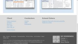 Zotero (15): Zotero connectors for Google Chrome