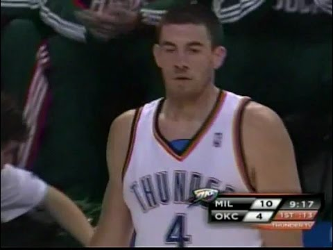 2008 Milwaukee Bucks at Oklahoma City Thunder