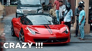 LOUD Revvs Ferrari 458 Italia with iPE Exhaust system in India | #159