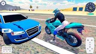 Motorbike Driving Simulator 3D - Gameplay Android & iOS Game - real physics motor engine game