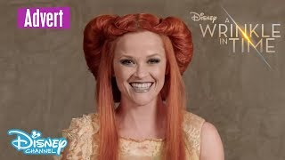 A Wrinkle in Time | Fashion BTS: Making of the Mrs. | Official Disney Channel UK