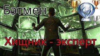 Batman Arkham City / Кампания Хищник эксперт, персонаж Бэтмен, 9 звёзд