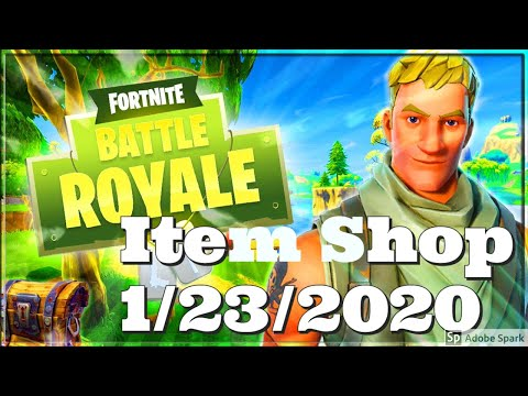 Fortnite Battle Royale Item Shop Ep. 3: Jan 23! *FEATURED* ICON Emotes By Poki And Jordan Fischer!