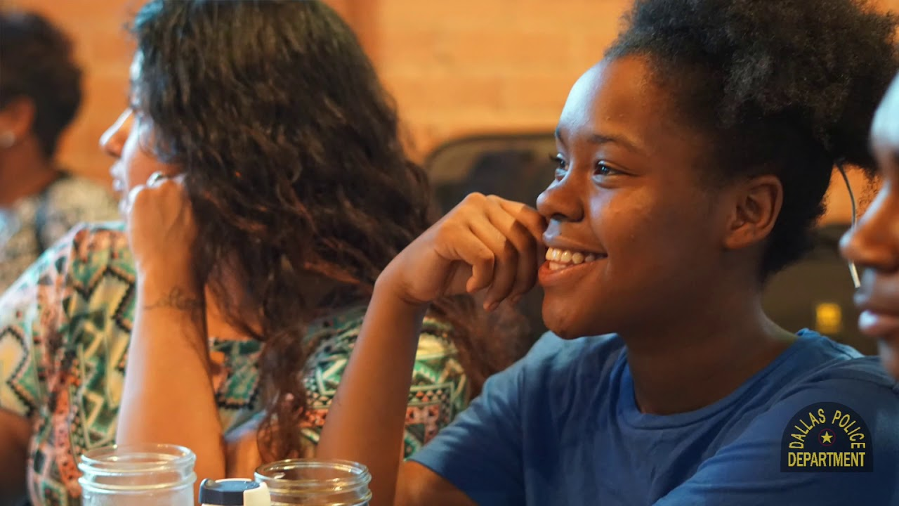 Dallas Police Department 'Back To School' Celebration for Summer Jobs  Participants