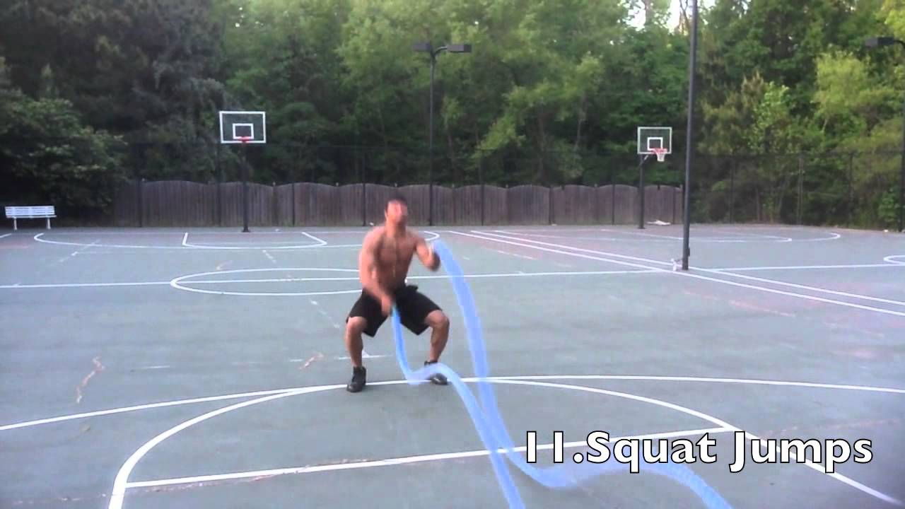 23 Battle Rope Exercises-