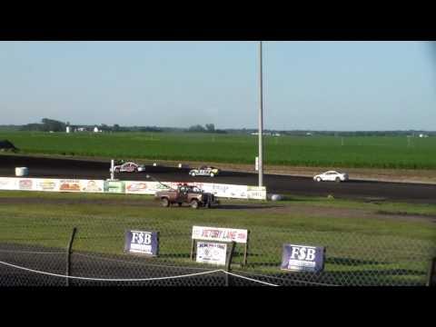 Sport Compact Heat 2 @ Hancock County Speedway 07/07/17