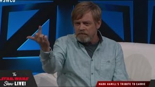 Mark Hamill's Tribute to Carrie Fisher Panel FULL - Star Wars Celebration 2017 Orlando