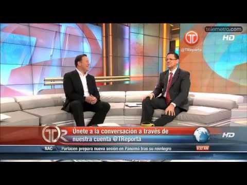 Entrevista de Juan Carlos Varela con Alvaro Alvarado
