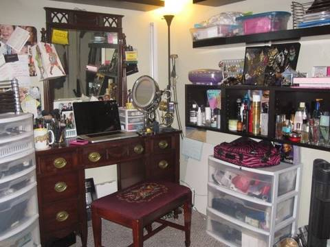 My Makeup Hair Station  YouTube