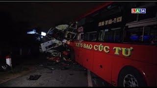 Tin nóng 24 giờ   Xe tải đối đầu xe khách giường nằm, 11 người thương vong   LONG AN TV