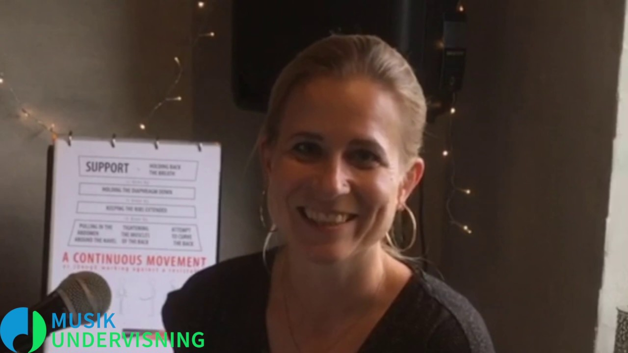 Lær at synge med Steffie Kristensen | Sangundervisning | Musikundervisning.dk