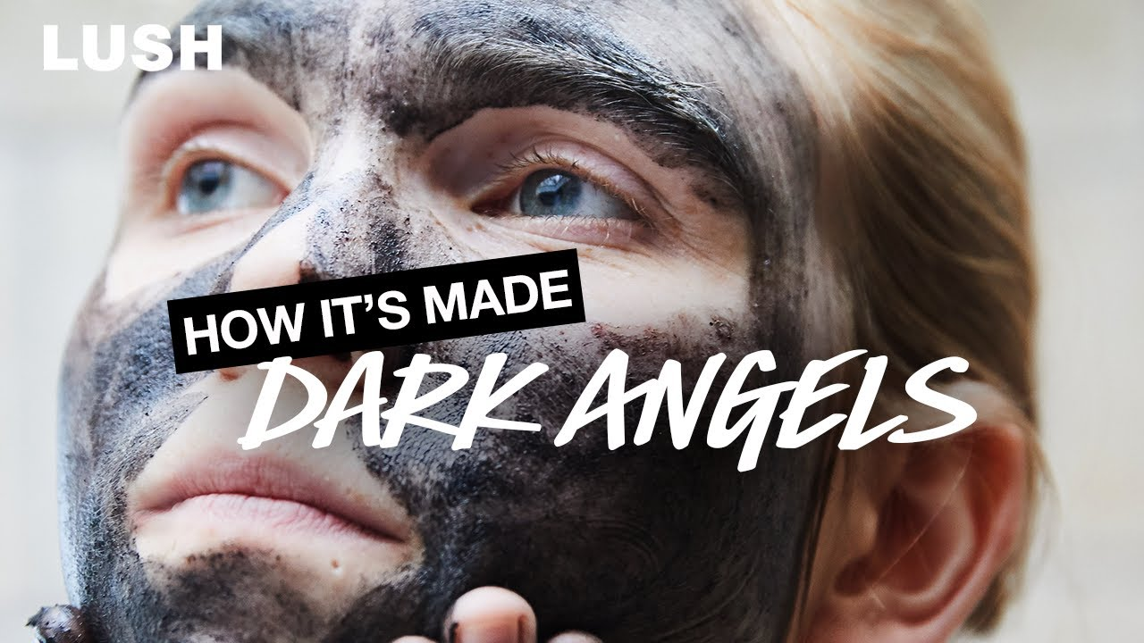 Lush How It's Made: Dark Angels Face And Body Cleanser