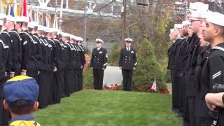 2014  Veterans Day Ceremony Sailor