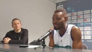 Yannick Bokolo après Elan Béarnais - Fos :