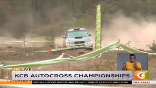 Fernandez set for return to KCB autocross championships after injury