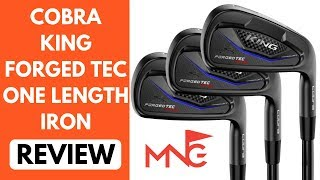 Cobra King Forged TEC ONE Length Iron Review