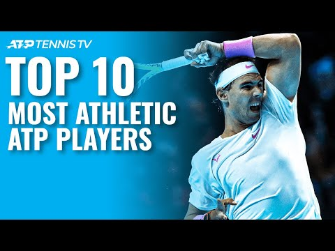 Top 10 Most Athletic ATP Tennis Players 💪