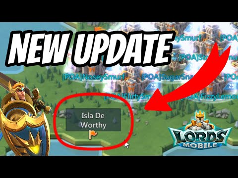 New Update! Pin Markers! - Lords Mobile