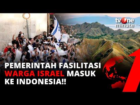 Pemerintah Bolehkan Warga Israel Masuk Ke Indonesia | TvOne Minute