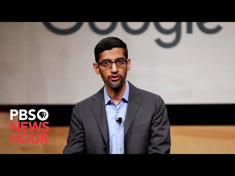 WATCH: Why does Trump's image appear under searches for 'idiot?' Google CEO Pichai answers.
