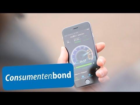 meting snelheid en dekking 4g consumentenbond