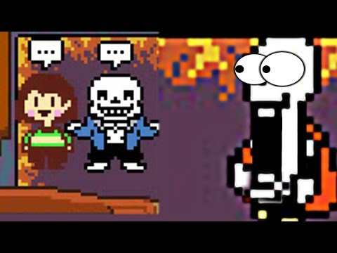 THE GREAT ADVENTURE OF PAPYRUS IN THE UNDERTALE ONLINE MULTIPLAYER!