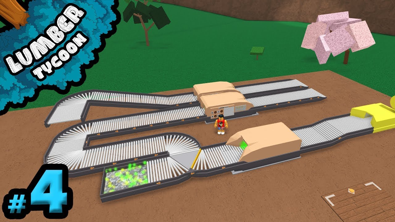 INSANELY GOOD Conveyor System - Lumber Tycoon Modded #4