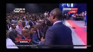 Louis Jr Tshakoane Prophesy - Prophet Shepherd Bushiri ECG