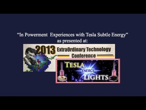 In-Powerment Experiences with Tesla Energy Lights by Aeron Goldheart